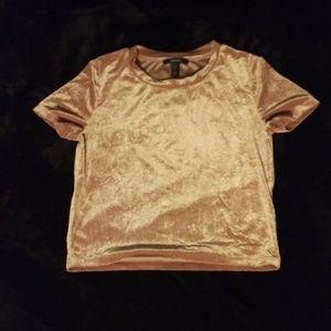 Gold stretch tshirt